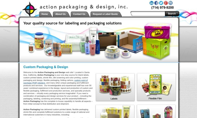 Action Packaging & Design Inc.