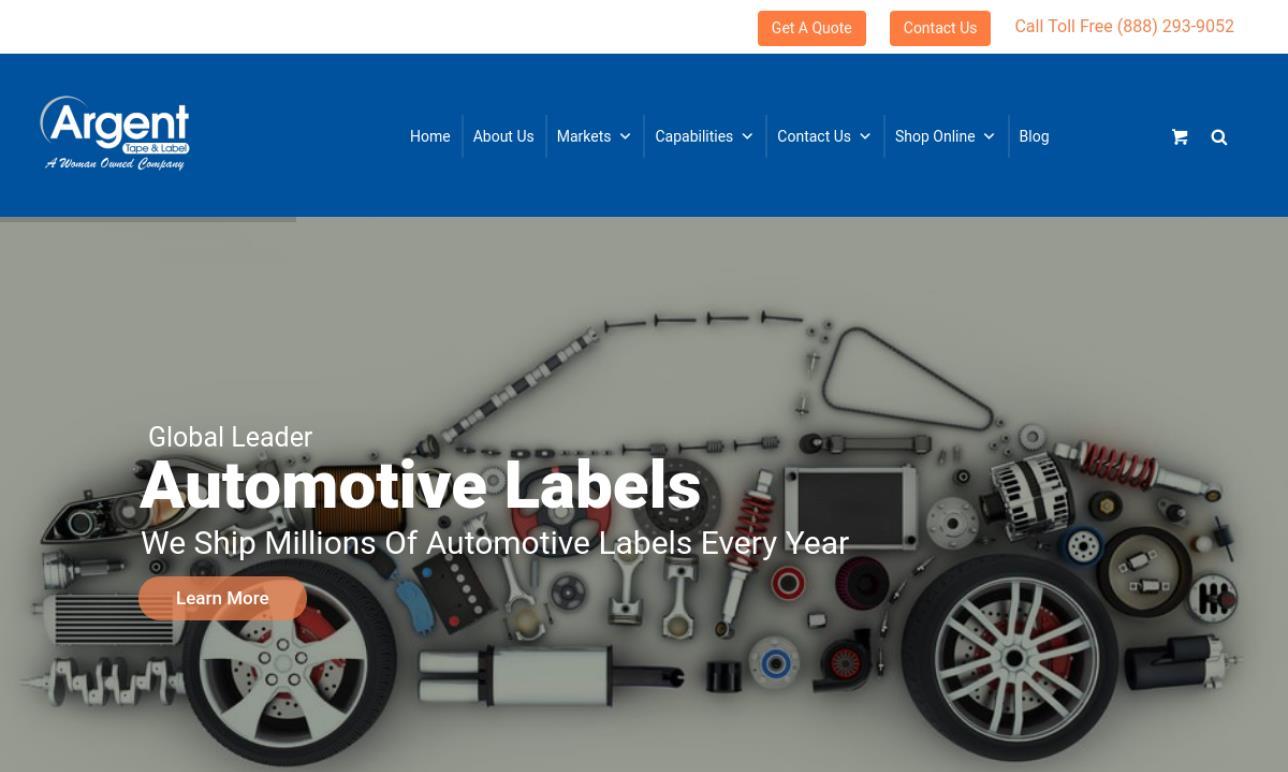 Argent Tape & Label, Inc.