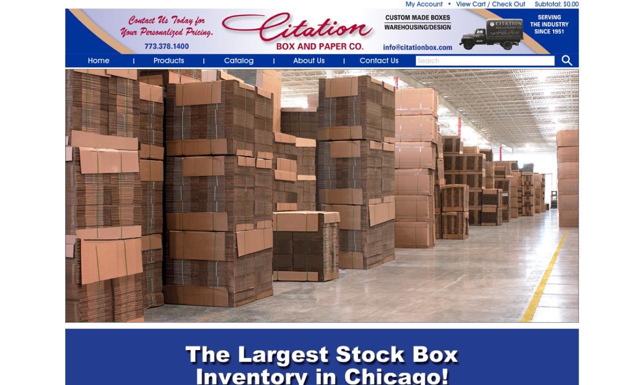Citation Box & Paper Co.