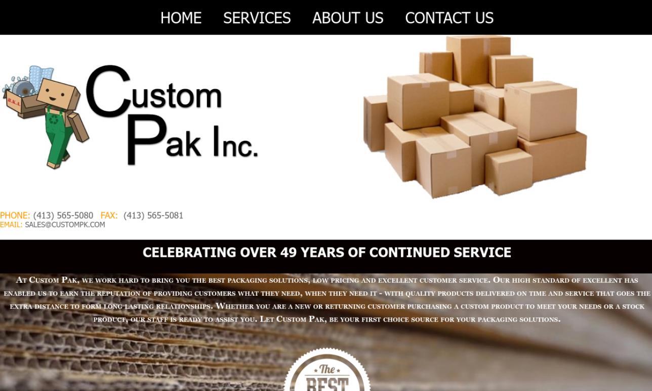 Custom Pak Inc.