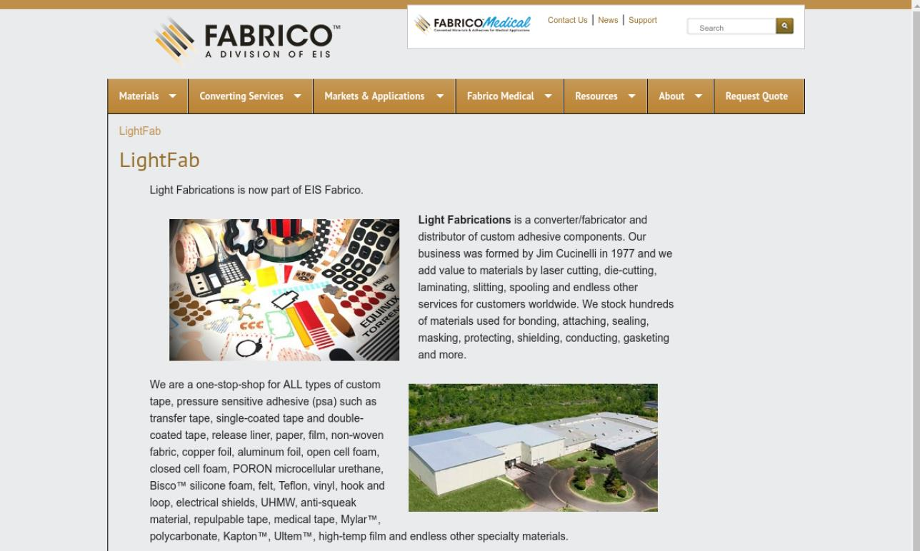 Light Fabrications, Inc.