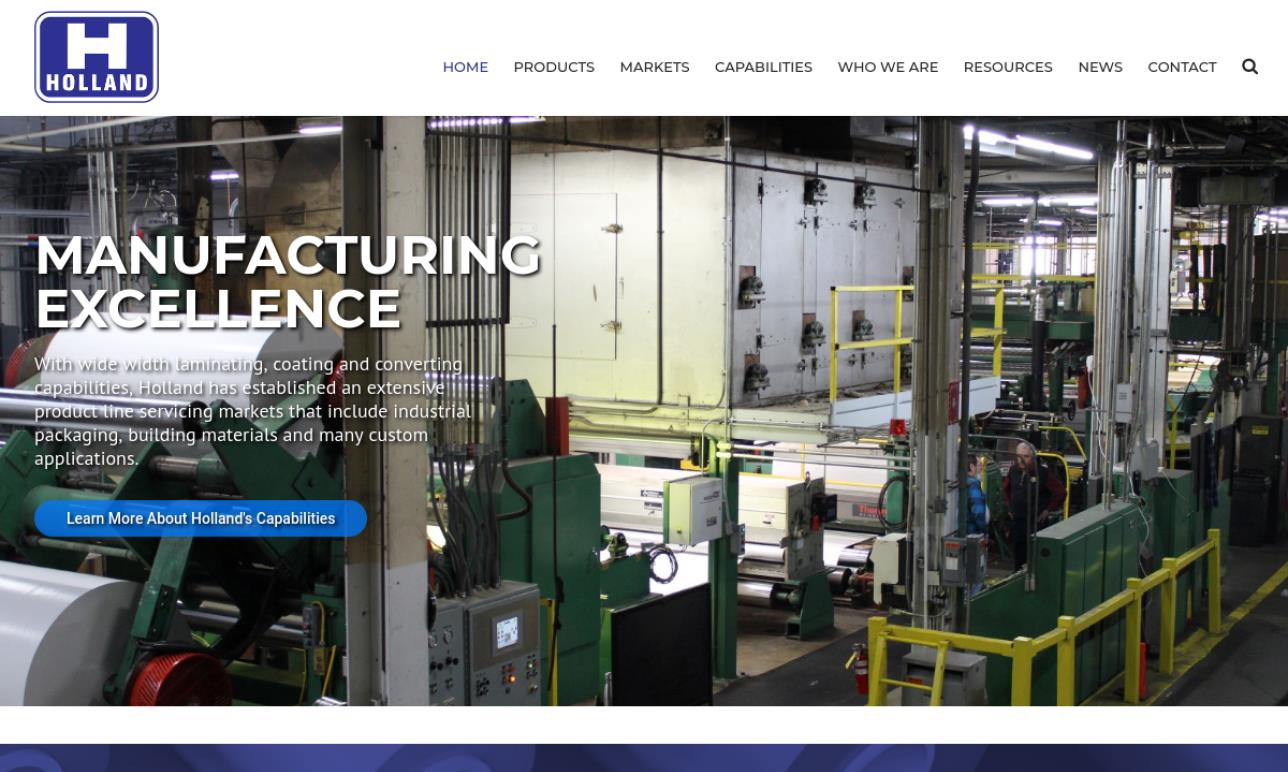 Holland Manufacturing Company, Inc.