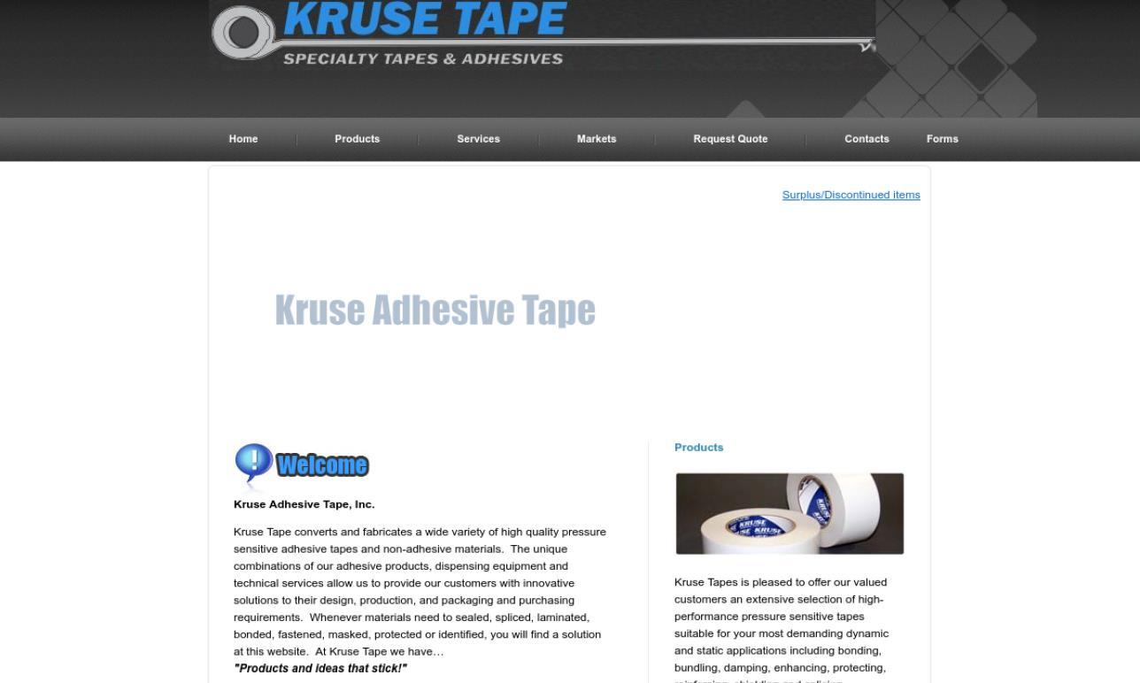 Kruse Adhesive Tape, Inc