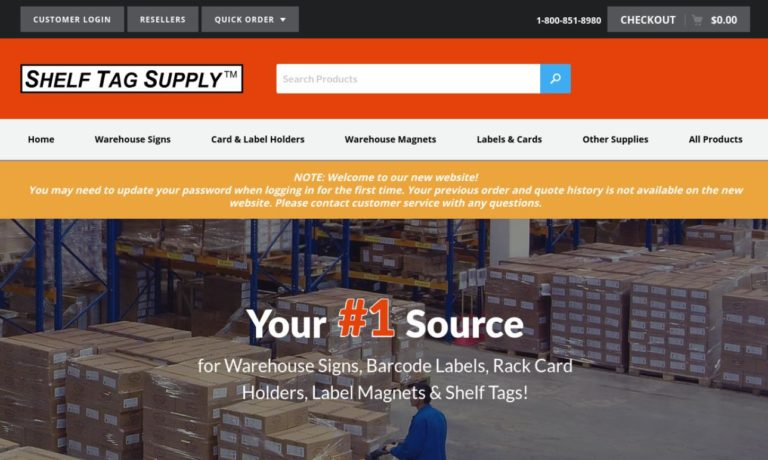 Shelf Tag Supply, Inc.