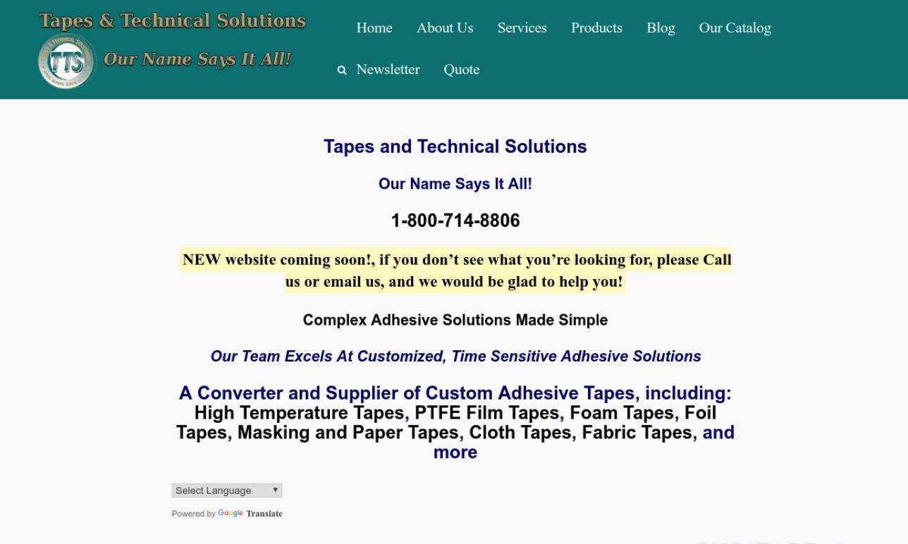 Tapes & Technical Solutions