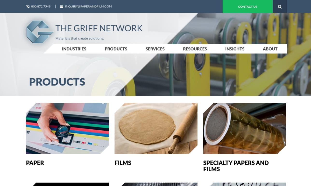 Griff Specialty Paper & Film